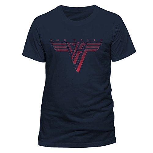 Van Halen Logo Eddie David Lee Roth Rock ufficiale Uomo maglietta unisex (Small)