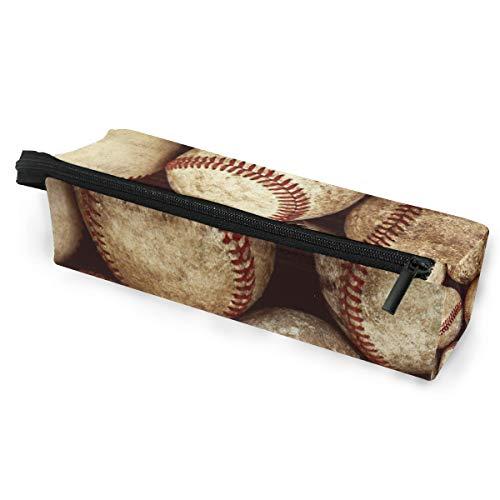 Bleistiftbeutel Etui Etui Dirty Baseball Make-up Kosmetische Sonnenbrille für Mädchen Jungen Reiseschule