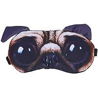 Healifty Schlafmasken Mops Hund Muster Augenmaske mit Eisbeutel Augenkühlung Maske Augenklappen preisvergleich bei billige-tabletten.eu