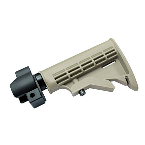 ICS MP-130 Tactical Stock (Tan) With Adapter Connect M4 (Tactical Stock)