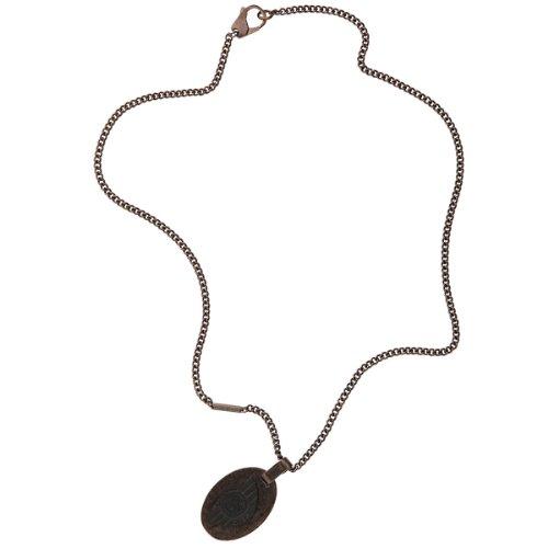 Diesel Herren-Halskette mit Anhänger Military Edelstahl ionenplattiert DX0555040