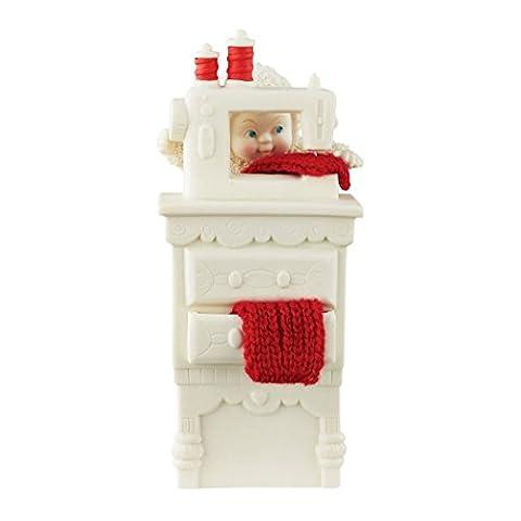 Snowbabies Department 56 Classics Stocking Cap Maker Figurine,