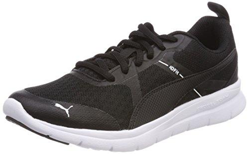 Puma Unisex-Erwachsene Flex Essential Sneaker, Schwarz Black 01, 38.5 EU