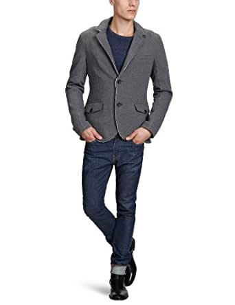 tom tailor denim herren sakko 39000980012 sweat blazer gr 46 s grau 2546. Black Bedroom Furniture Sets. Home Design Ideas