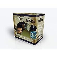 Mahou Navidad Barrica - Estuche de 4 x 330 ml con copa - Total: 1320