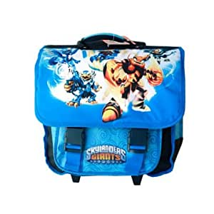 cartable skylanders roulettes fournitures de bureau. Black Bedroom Furniture Sets. Home Design Ideas