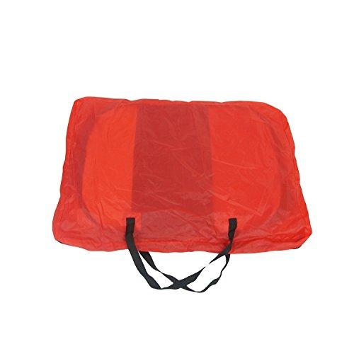 Roter Tierlaufstall - großer Welpenauslauf für innern oder außen - einfach aufzubauen -