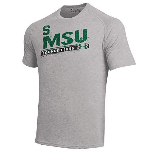 Under Armour, Kurzärmliges Herren-T-Shirt, NCAA Größe L True Gray Heather -