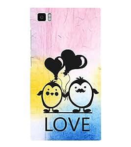 EPICCASE lovers pose Mobile Back Case Cover For Xiaomi Mi3 (Designer Case)