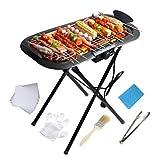Elektrische Barbecue Grill Multifunktions Edelstahl Thermokocher 220 V Küchengerät