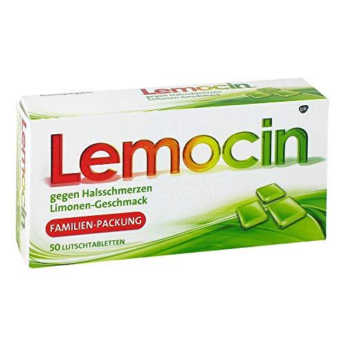 Lemocin gegen Halsschmerz 50 stk
