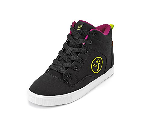 Zumba Footwear Street Fresh, Chaussures de Fitness Fille Noir (Black)