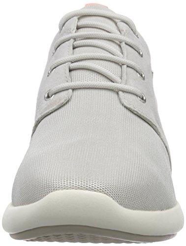 Geox D OPHIRA A, Sneakers basses femme gris (Gris (Lt Grey))