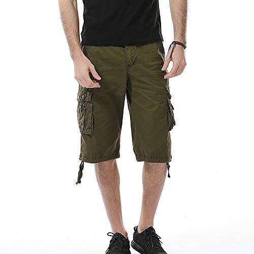 Beonzale Shorts Herren Für Sport Joggen und Training Shorts Fitness Mit Cargo Shorts Kurze Hose Bermuda mit Gürtel Short Hunter Sweatpants -