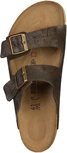 Birkenstock Arizona 51901, Unisex - Erwachsene Sandalen brown finish (1000594)