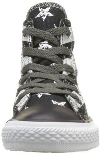 Converse Rock Stars&Bars, Unisex - Kinder Sneaker Noir (Noir/Blanc)
