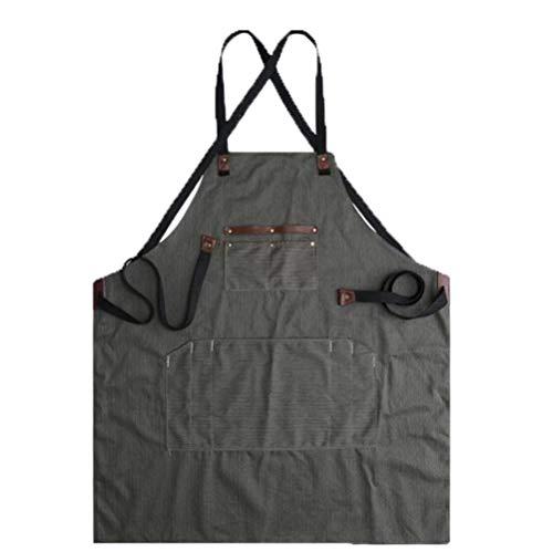 Canvas Werkzeug Schürze Multi-Pocket Schürze Taktische Schürze Handwerker Schürze,Armygreen-OneSize