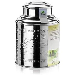 MILKY OOLONG - Aromatisierter grüner Tee - im Tea Caddy (Teedose) - Ø98 mm, Höhe 135mm (100g)