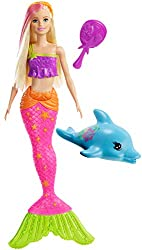 Barbie GGG58 - Reise Meerjungfrau Puppe, Puppen Spielzeug ab 3 Jahren