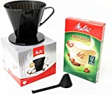 Melitta 1x2 Coffee Cone With 40 Free Filters(Spares+)