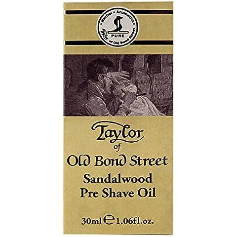 Taylor of Old Bond Street Sandalwood Pre Shave Oil - 30ml