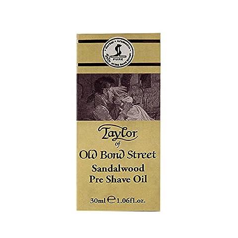 Taylor of Old Bond Street Sandalwood Sandelholz Pre Shave Öl - 30ml
