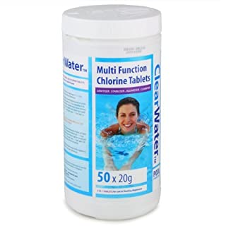 Clearwater Mini Multifunction Chlorine Tablets, 50 x 20g