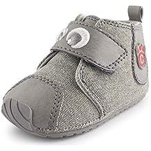dfbadf83dab16 Cartoonimals Zapatos para bebé Niños Niñas Infantil Primeros Pasos Piel  Suave Zapatillas Labra