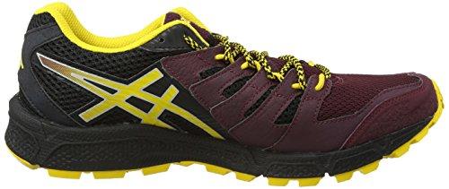 Asics Gel-fujiattack 4, Chaussures de Trail Homme Bleu (Royal Burgundy/Spectra Yellow/Black 2904)