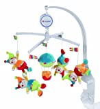 Fehn 152333 Musik-Mobile Clowns/Ballon