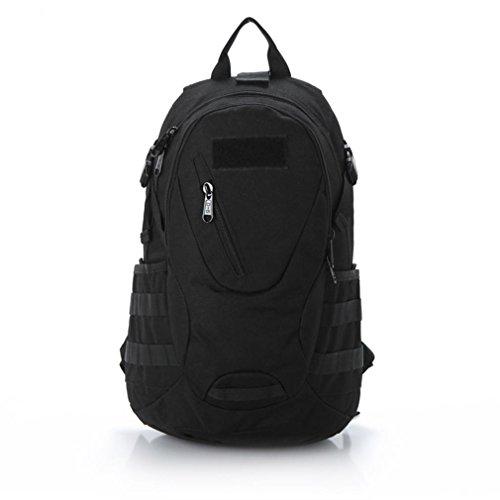 25LPractical taktischen Paket militärischen molaren Angriff Tasche 600D Outdoor Sport taktischen Military Assault Bag Rucksack Daypack Black