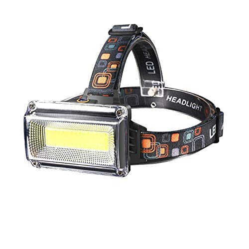 LED Stirnlampe 10000lm LED Stirnlampe wiederaufladbar Stirnlampe Scheinwerfer Wasserdicht Jagd Angelbeleuchtung