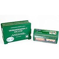 FLEXEO Betriebsverbandkasten DIN 13 157 (inkl. gefülltem Salvequick Pflasterspender) preisvergleich bei billige-tabletten.eu