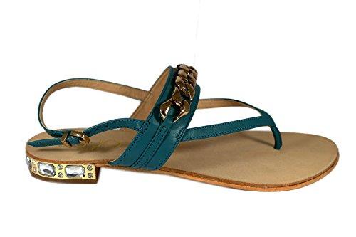LIU JO infradito con catena e gioielli sul tacco (39)
