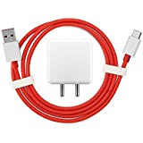 Pacificdeals 4 Amp Fast Charger + Fast Charging Cable for One Plus 3/One Plus 3T/One Plus 5/One Plus 5T/One Plus 6 - White