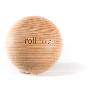 rollholz Faszienkugel/Massage-Kugel Aus Buche