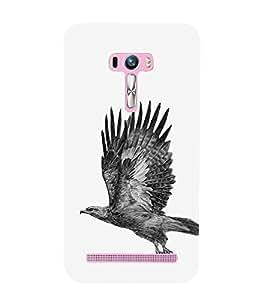 EPICCASE Elegant eagle Mobile Back Case Cover For Asus Zenfone Selfie (Designer Case)