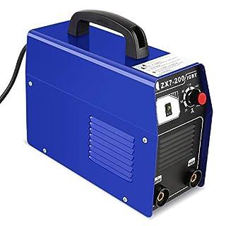 FIXKIT Inverter Schweißgerät -2.5mm Elektrodenschweißgerät 200A Elektroden Schweißmaschine mit Einschaltdauer 100% bei 160A