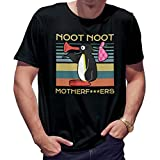 Noot Noot Vintage Herren schwarz T-Shirt Size S