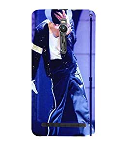 Vizagbeats michale jackson on stage Back Case Cover for Asus Zenfone 2::Asus Znfone 2 ZE550ML