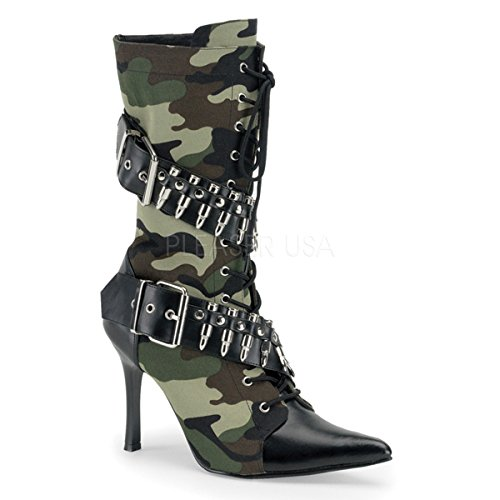 Higher-Heels Funtasma Military Boots Militant-128 Camouflage 38 -