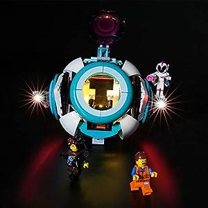 LIGHTAILING Set di Luci per (Lego Movie 2 Sweet Mayhem's Systar Starship) Modello da Costruire - Kit Luce LED… 0716852281459 LEGO