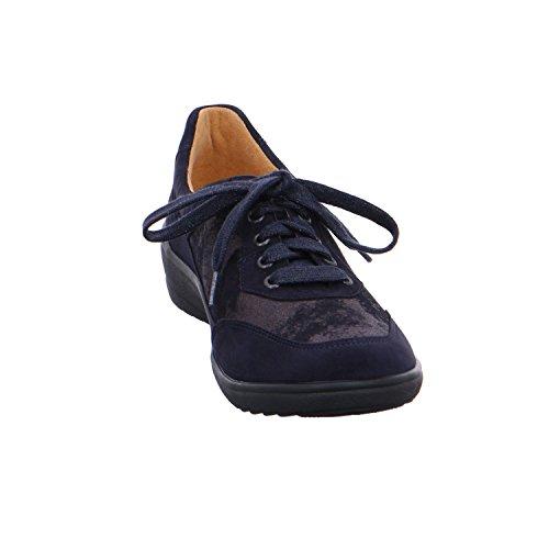 lacets ville de 4 Ganter Bleu 208808 pour femme Chaussures à IBYIOq