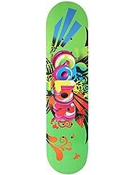 Ancheer Skateboard, Impression Plateau en bois + Roues en PU, Dimensions: 78,5x 19,5x 9,5cm, charge: 100kg