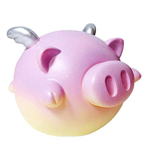 Hucha Piggy Bank Starry Series Contenedor grande para monedas Decoración linda para dormitorio Habitación de niños Juguete de descompresión Vivid And Cute
