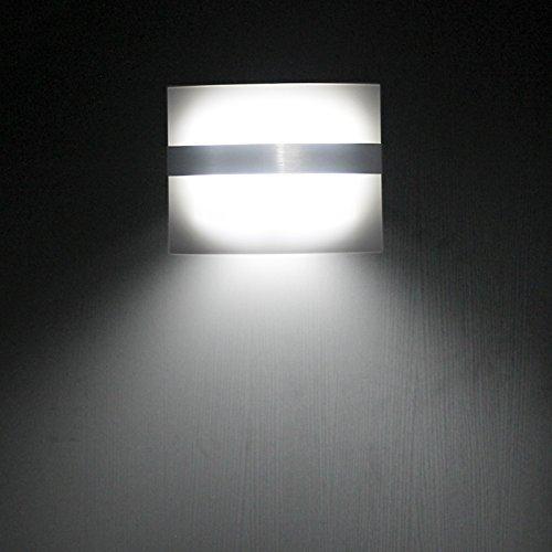 ELINKUME Applique Murale LED Lampe de Mur Détecteur de Mouvement (Cool White)