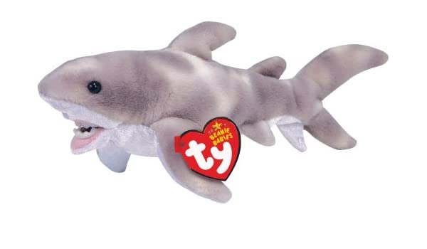 Crunch the Shark - Ty Beanie Baby  Amazon.co.uk  Toys   Games 15f1502cff1b