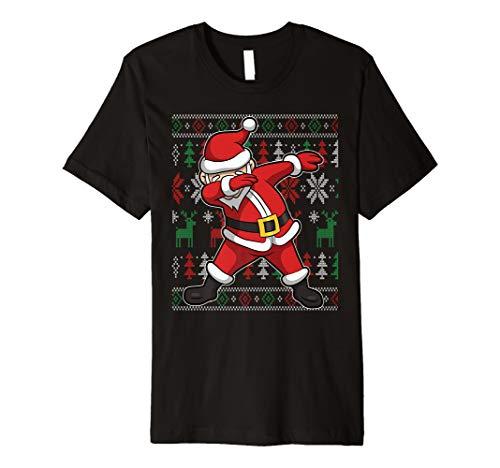 Ugly Christmas Shirt Santa Claus Dab for Women, Men, Youth