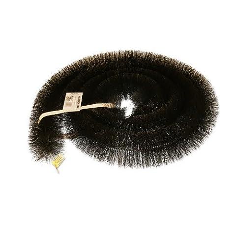 3 x 4m (12 metres) 100mm Black Hedgehog Gutter Brush