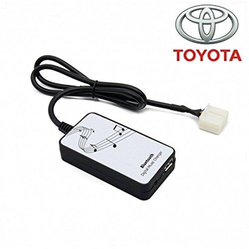 Interface Adaptateur Porte USB - AUX in - Bluetooth pour autoradio Toyota - Lexus 6 + 6 pins BHC-TOYOTA01